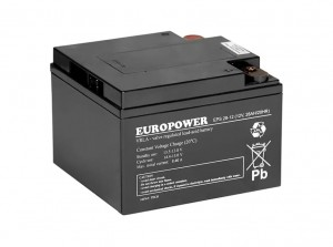Akumulator 12V-28Ah, EUROPOWER