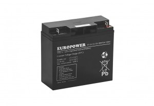 Akumulator 12V-22Ah, EUROPOWER
