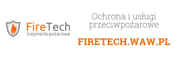 Sklep ppoż artykuły i sprzęt przeciwpożarowy FIRETECH